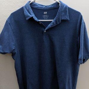 H&M Blue Polo Shirt